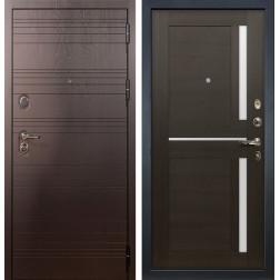 Входная стальная дверь Лекс Легион Баджио Венге (панель №50)