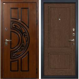 Входная дверь Лекс Спартак Cisa Энигма-1 Орех (панель №57)