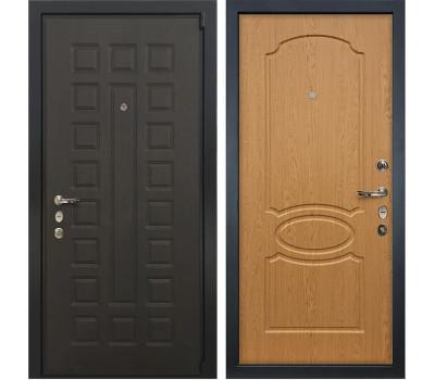 Входная стальная дверь Лекс 4А Неаполь Mottura Дуб натуральный (панель №15)