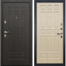 Входная металлическая дверь Лекс Сенатор 8 Дуб беленый (панель №28)
