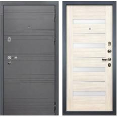 Входная дверь Лекс Легион 3К Софт графит / Сицилио Дуб беленый (панель №46)