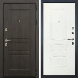 Входная дверь Лекс Сенатор Винорит Белая шагрень (панель №68)