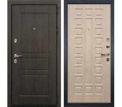 Входная стальная дверь Лекс Сенатор Винорит Дуб беленый (панель №20)