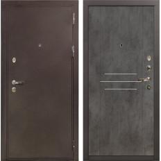 Входная дверь Лекс 5А Цезарь Бетон тёмный (панель №82)