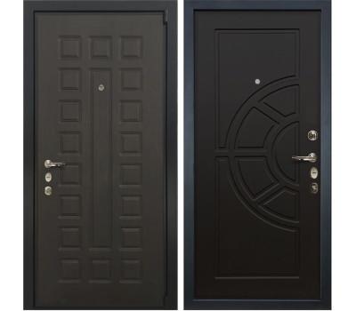 Входная стальная дверь Лекс 4А Неаполь Mottura Венге (панель №43)
