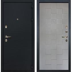Входная дверь Лекс 2 Рим Графит софт Квадро (панель №72)