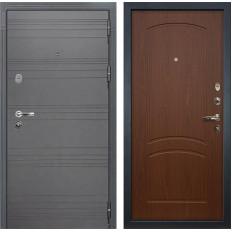 Входная дверь Лекс Легион 3К Софт графит / Береза мореная (панель №11)