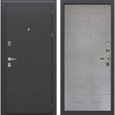 Входная дверь Лекс Колизей Графит софт Квадро (панель №72)