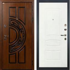 Входная дверь Лекс Спартак Cisa Белая шагрень (панель №68)