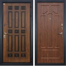 Входная дверь Лекс Гладиатор 3К Винорит Береза мореная (панель №26)