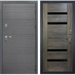 Входная стальная дверь Лекс Легион 3К Софт графит / Неро Графит шале (панель №65)