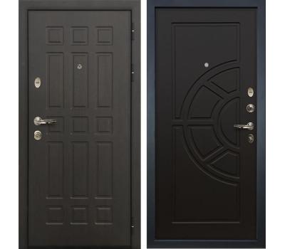 Входная металлическая дверь Лекс Сенатор 8 Венге (панель №43)