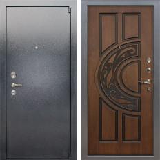Входная дверь Лекс 3 Барк Голден патина черная (панель №27)