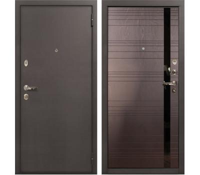 Входная стальная дверь Лекс 1А Ясень шоколад (панель №31)
