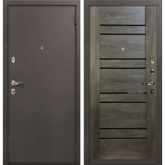 Входная дверь Лекс 1А Терра Графит шале (панель №64)