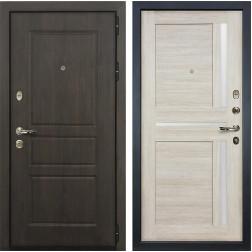 Входная дверь Лекс Сенатор Винорит Баджио Ясень кремовый (панель №49)