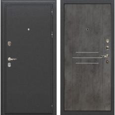 Входная дверь Лекс Колизей Бетон тёмный (панель №82)