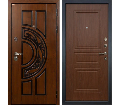 Входная стальная дверь Лекс Спартак Cisa Береза мореная (панель №19)