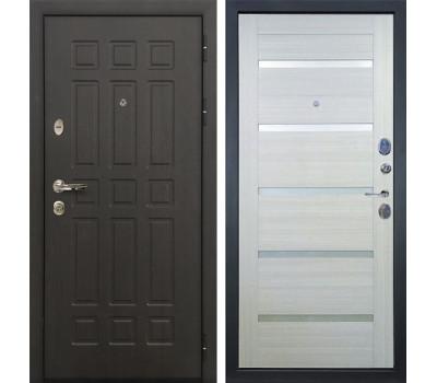 Входная металлическая дверь Лекс Сенатор 8 Клеопатра-2 Дуб беленый (панель №58)