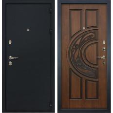Входная дверь Лекс 2 Рим Винорит Голден патина черная (панель №27)