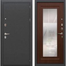 Входная дверь Лекс Колизей с Зеркалом Береза мореная (панель №30)