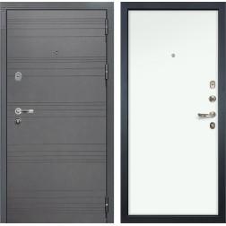 Входная стальная дверь Лекс Легион 3К Софт графит / Белый (панель №59)