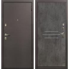Входная дверь Лекс 1А Бетон тёмный (панель №82)