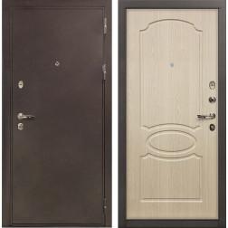 Входная дверь Лекс 5А Цезарь Дуб беленый (панель №14)