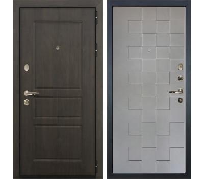 Входная стальная дверь Лекс Сенатор Винорит Графит софт Квадро (панель №72)
