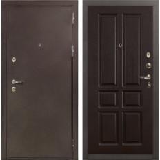 Входная дверь Лекс 5А Цезарь Ясень шоколад (панель №86)