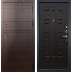 Входная стальная дверь Лекс Легион 3К Венге (панель №21)