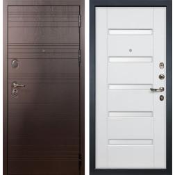 Входная стальная дверь Лекс Легион 3К Ясень белый (панель №34)