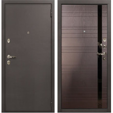 Входная дверь Лекс 1А Ясень шоколад (панель №31)