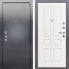 Входная дверь Лекс 3 Барк Софт белый снег (панель №87)