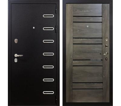 Входная металлическая дверь Лекс Витязь Терра Графит шале (панель №64)