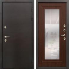 Входная дверь с терморазрывом Лекс Термо Сибирь 3К Береза мореная (панель №30)