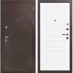 Входная дверь Лекс 5А Цезарь Софт белый снег (панель №94)