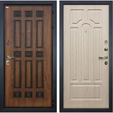 Входная дверь Лекс Гладиатор 3К Винорит Дуб беленый (панель №25)