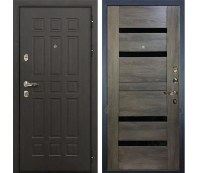 Входная металлическая дверь Лекс Сенатор 8 Неро Графит шале (панель №65)