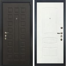 Входная дверь Лекс 4А Неаполь Mottura Белая шагрень (панель №68)