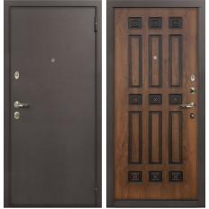Входная дверь Лекс 1А Винорит Голден патина черная (панель №33)