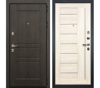 Входная стальная дверь Лекс Сенатор Винорит Верджиния Дуб беленый (панель №38)