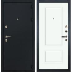 Входная дверь Лекс 2 Рим Вероника-1 Шпон Эмаль Белая (панель №55)