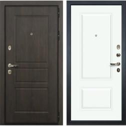 Входная дверь Лекс Сенатор Винорит Вероника-1 Эмаль Белая (панель №55)