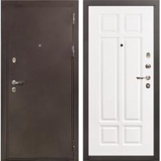 Входная дверь Лекс 5А Цезарь Софт белый снег (панель №89)