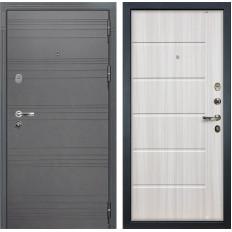 Входная дверь Лекс Легион 3К Софт графит / Сандал белый (панель №42)