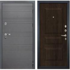 Входная дверь Лекс Легион 3К Софт графит / Алмон 28 (панель №60)