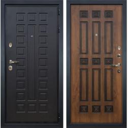 Входная дверь Лекс Гладиатор 3К Голден патина черная (панель №33)