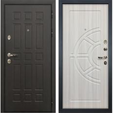 Входная дверь Лекс Сенатор 8 Сандал белый (панель №44)