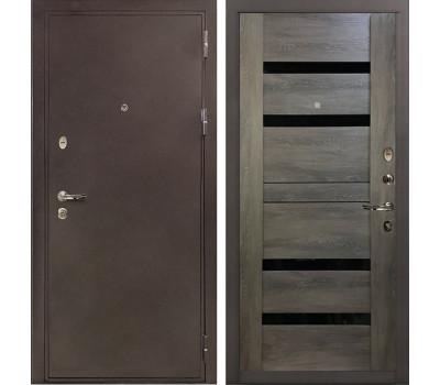 Входная стальная дверь Лекс 5А Цезарь Неро Графит шале (панель №65)